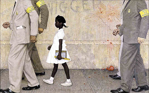 The Problem We All Live With, Norman Rockwell