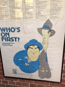 Patersonian Lou Costello and his partner Bud Abbott played Hincliffe in the 40's.