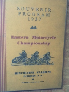 Motorcycle racing at Hinchliffe