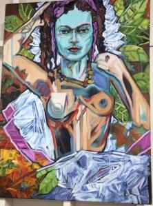 Frida Kahlo by Beck Lane