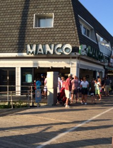 My vote for best boardwalk pizza goes to Manco and Manco's in Ocean City