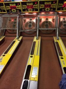 Skeeball - a boardwalk classic