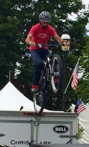 Trailer-top biking