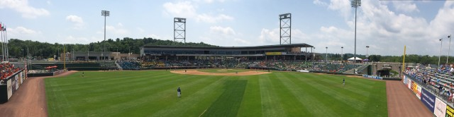 Provident Bank Park, home of the Rockland Boulders.