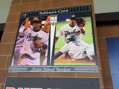 Perhaps the greatest Staten Island Yankee, Roberson Cano