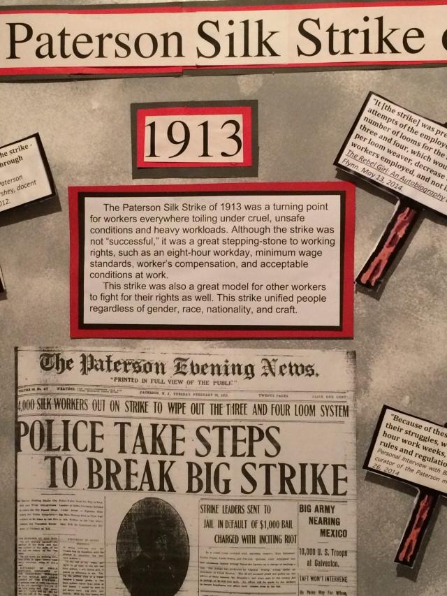 1913 Paterson Silk Strike