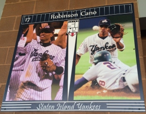 Robinson Cano began his professional career as a Staten Island Yankee