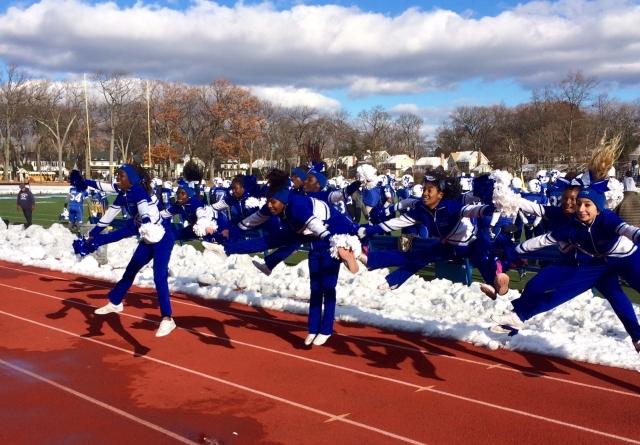 Montclair cheerleaders