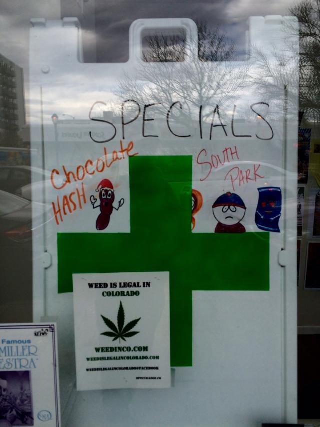 Pot Shop Specials