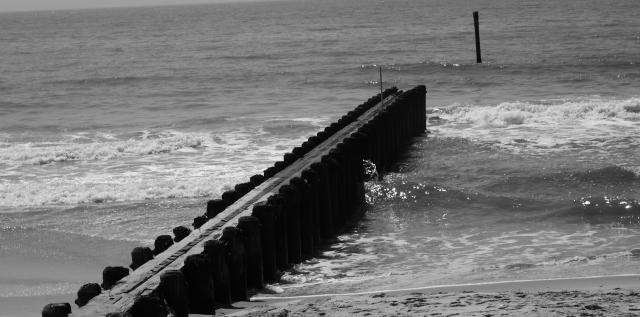 The Atlantic Ocean at Atlantic City beach