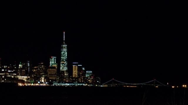 Lower Manhattan, Night Time