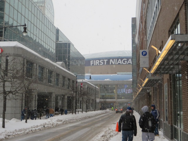 First Niagara Center, home of the Buffalo Sabres
