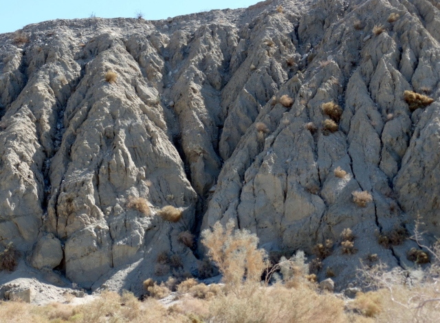 San Adreas Fault in southeastern California