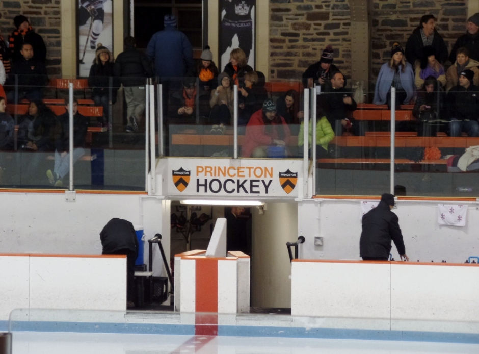 Baker Rink, home of Princeton University hockey