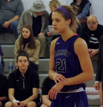 Amherst player at Panzer Athletic Center