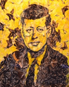 JFK with Butterflies