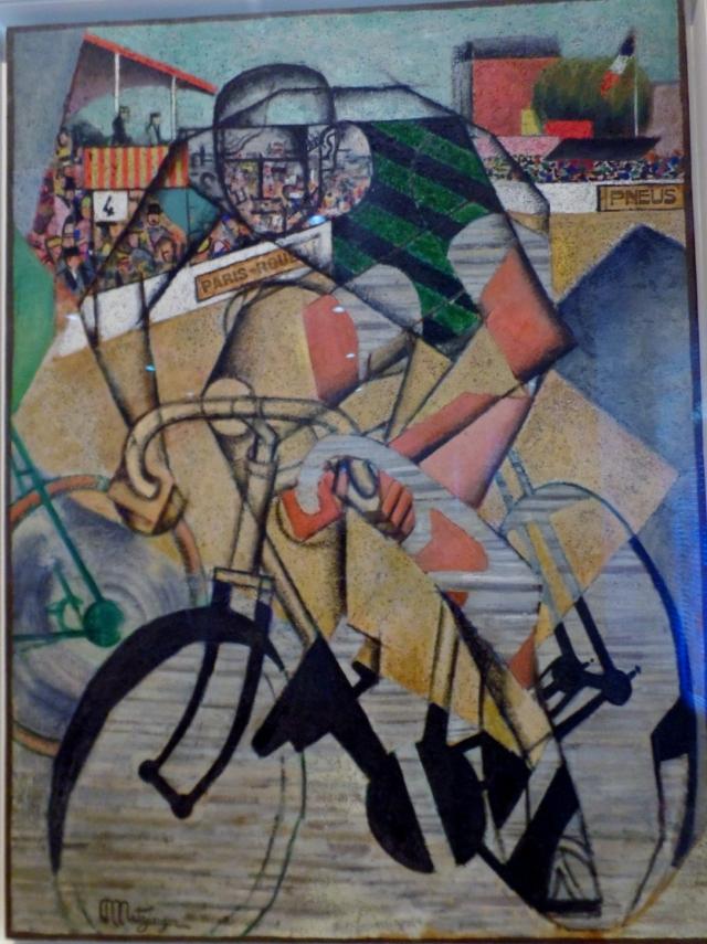 Au Velodrome by Jean Metzinger