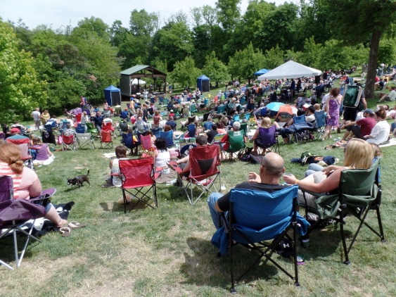 Dylan Fest audience