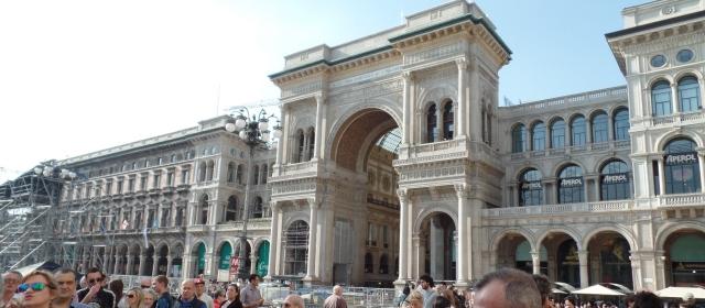 Galleria Vitorio Emanuale archway