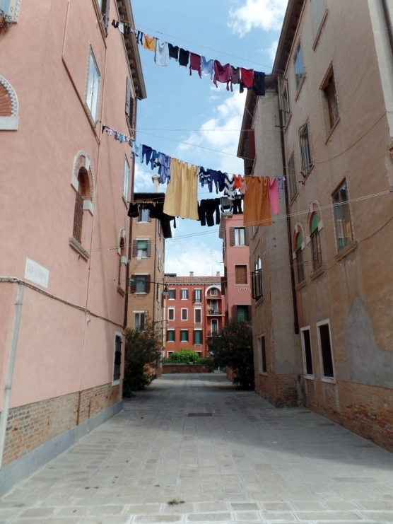 Residential street in Giudecca