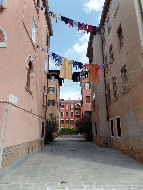 Residential street in Giudecca