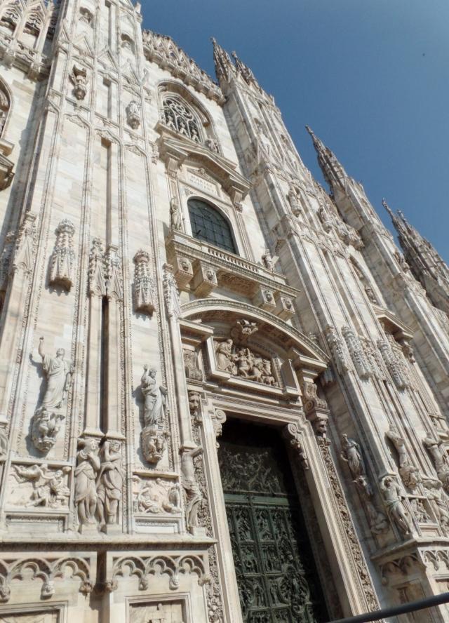 Entrance to the Duomo