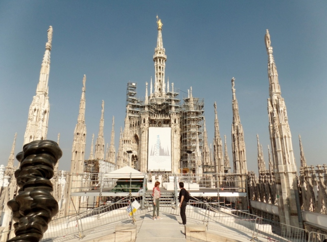 Roof of Duomo