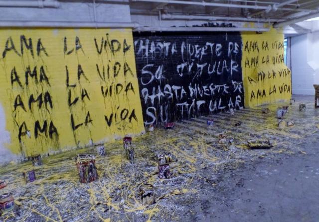 Ama La Vida mural