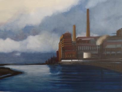 Power Plant Dawn