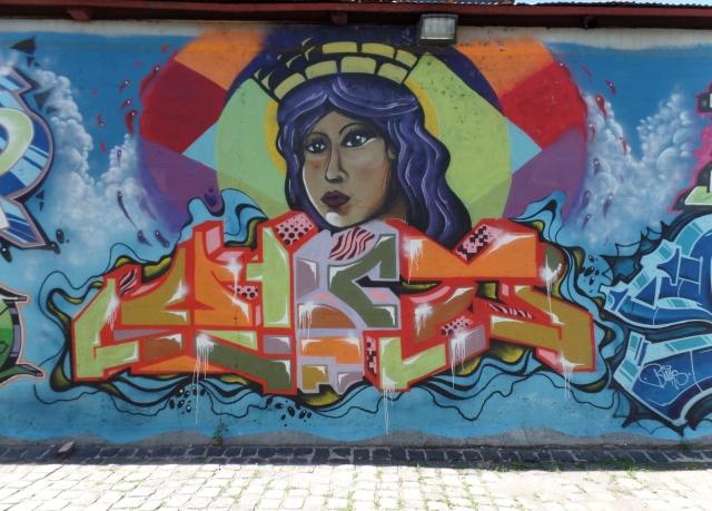 Spruce Street mural