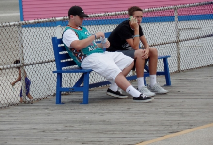 Boardwalk dudes