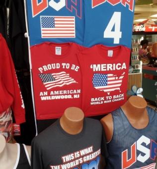 Patriotic shirts