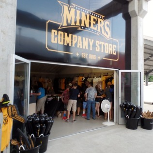 Miners gift shop