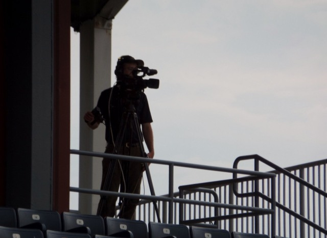 Filming the game
