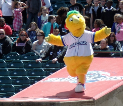 Blue Claws mascot