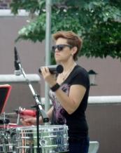 Cocomama percussionist