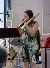 Cocomama trombone player
