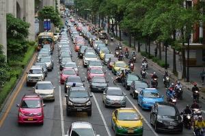 urban traffic jam