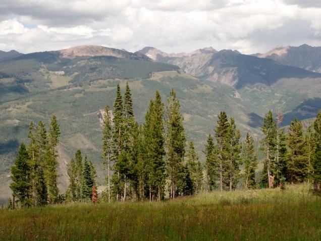Vail Mountain view