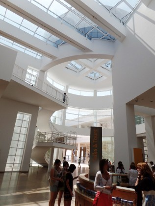Getty Center lobby