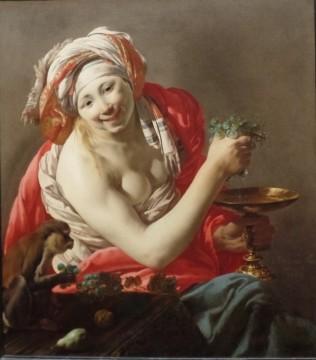 Bacchante With an Ape, Hendrick Ter Brugghen