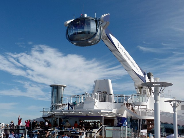 Lift on Anthem of the Seas