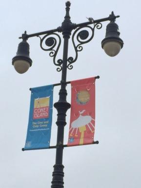 boardwalk lamp post