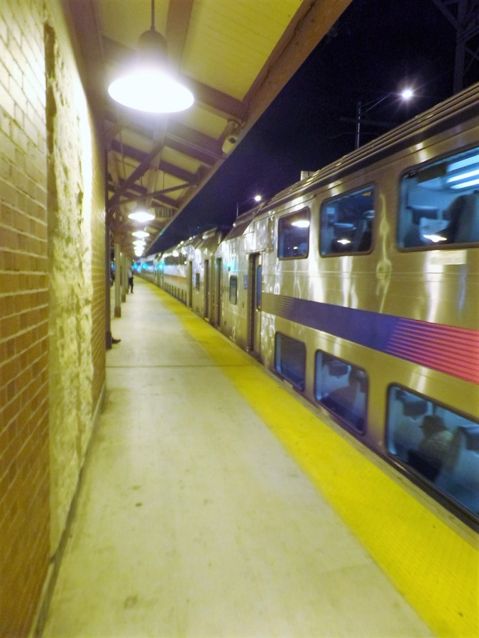 NJ Transit commuter train
