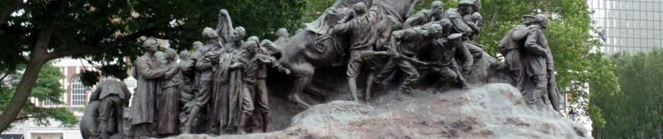 Military Park statue