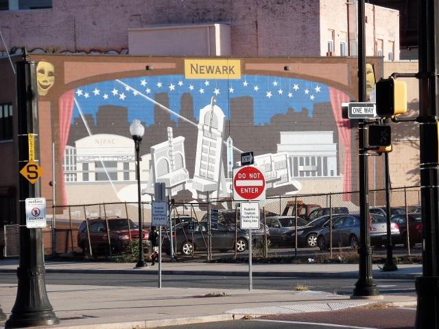 Newark mural