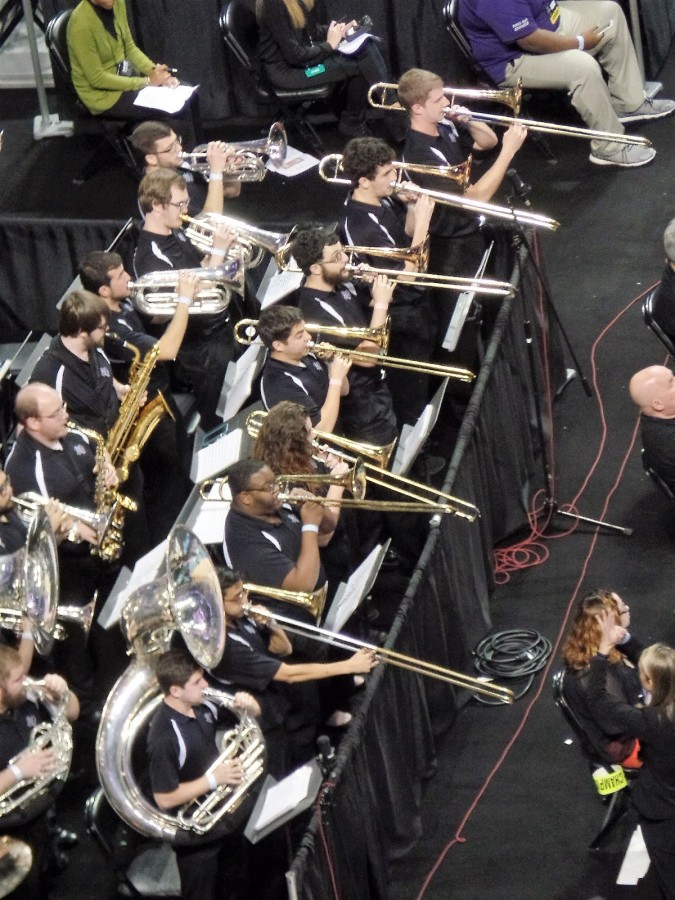 The Stephen F. Austin band