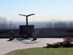 Scenic view of Manhattan