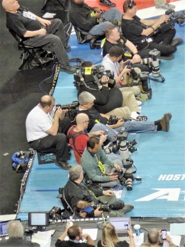 Media photographers