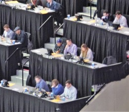 Barclay's Center press box